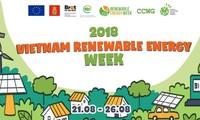 Tuần lễ năng lượng tái tạo 2018 sẽ diễn ra từ ngày 21-26/08