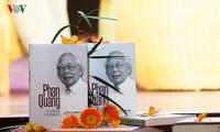 """Gặp mặt kỷ niệm 73 năm thành lập Đài TNVN và giới thiệu cuốn sách """"Phan Quang – 90 tuổi đời, 70 tuổi nghề"""""""