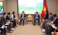 Phó Thủ tướng Vương Đình Huệ đề nghị Lotte quan tâm phân phối các sản phẩm OCOP