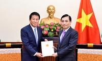 Trao Quyết định gia hạn nhiệm kỳ Đại sứ đặc biệt Việt Nam – Nhật Bản