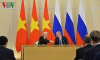 Động lực mới đưa quan hệ hợp tác nhiều mặt LB Nga - Việt Nam phát triển sâu rộng