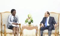 Thủ tướng Nguyễn Xuân Phúc tiếp Phó Chủ tịch WB phụ trách khu vực Đông Á-Thái Bình Dương
