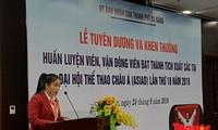 Đà Nẵng khen thưởng các huấn luyện viên, vận động viên tham dự ASIAD 18