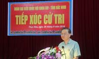 Bộ trưởng Bộ Công an Tô Lâm tiếp xúc cử tri tỉnh Bắc Ninh
