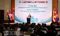 Khai mạc Hội nghị cấp Bộ trưởng ASEAN lần thứ 6 về vấn đề ma túy