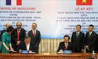 Thúc đẩy hợp tác giữa Thành phố Hồ Chí Minh và Vùng Lyon, Pháp