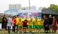 Giao hữu bóng đá nhân kỷ niệm 45 năm ngày thiết lập quan hệ ngoại giao Việt Nam – Australia