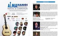 Festival guitar quốc tế Alma Hà Nội sẽ diễn ra từ 26 - 28/10