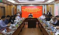 Phó Chủ tịch Quốc hội Tòng Thị Phóng làm việc với Đài Tiếng nói Việt Nam