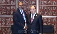 Thủ tướng Nguyễn Xuân Phúc gặp Thủ tướng Vanuatu