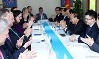 Thủ tướng Nguyễn Xuân Phúc tiếp Liên minh doanh nghiệp Hoa Kỳ