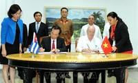 Bế mạc kỳ họp thứ 36 của Ủy ban Liên chính phủ Việt Nam - Cuba