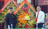 Chúc mừng nhân Đại lễ Đản sinh Đức Huỳnh giáo chủ Phật giáo Hòa Hảo