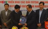 VFF và VOV cùng phối hợp nâng cao chất lượng các giải futsal