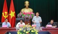 Phó Thủ tướng Vương Đình Huệ làm việc tại Hải Phòng