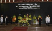 Tổ chức trọng thể Lễ tang Nguyên Giám đốc Học viện Chính trị quốc gia Hồ Chí Minh Nguyễn Đức Bình