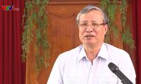 Thường trực Ban Bí thư Trần Quốc Vượng làm việc tại Bắc Ninh