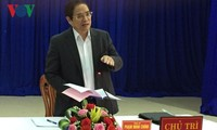 Trưởng Ban Tổ chức Trung ương Phạm Minh Chính làm việc tại Đà Nẵng