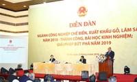 Việt Nam phấn đấu trở thành quốc gia xuất khẩu sản phẩm gỗ và lâm sản hàng đầu thế giới