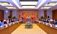 Đoàn đại biểu Quốc hội Vương quốc Campuchia thăm chính thức Việt Nam
