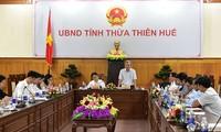 Phó Thủ tướng Vũ Đức Đam làm việc tại tỉnh Thừa Thiên Huế