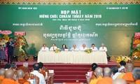 Thủ tướng Nguyễn Xuân Phúc dự họp mặt mừng Tết Chol Chnam Thmay