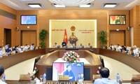 Ủy ban Thường vụ Quốc hội họp phiên bế mạc