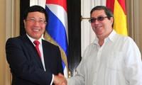 Phó Thủ tướng, Bộ trưởng Ngoại giao Phạm Bình Minh thăm chính thức Cuba