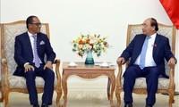 Thủ tướng Nguyễn Xuân Phúc tiếp Bộ trưởng Ngoại giao và hợp tác Timor Leste Dionisio Babo Soares