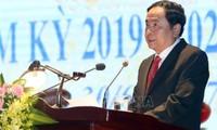 Chủ tịch Uỷ ban Trung ương MTTQ Việt Nam Trần Thanh Mẫn dự và chỉ đạo Đại hội MTTQ Việt Nam tỉnh Hải Dương