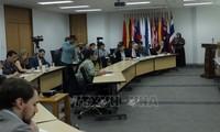 Họp báo tại Indonesia về vai trò của ASEAN trong khu vực Ấn Độ Dương-Thái Bình Dương