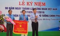 Kỷ niệm 90 năm Ngày thành lập Công đoàn Việt Nam: Tích cực chăm lo cho người lao động
