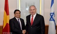 Trưởng Ban Tổ chức Trung ương Phạm Minh Chính thăm và làm việc tại Israel