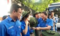 Tuổi trẻ thủ đô xuất quân sang hoạt động tình nguyện tại Lào
