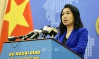 Yêu cầu Trung Quốc chấm dứt ngay vi phạm, rút toàn bộ tàu ra khỏi vùng đặc quyền kinh tế của VN