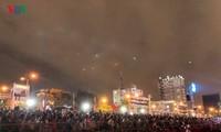 Hình ảnh đêm khai mạc cuộc trình diễn pháo hoa quốc tế Đà Nẵng