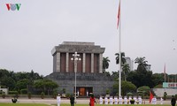 Thiêng liêng lễ chào cờ ngày Quốc khánh 2/9 trên Quảng trường Ba Đình