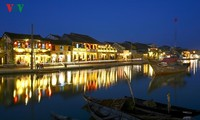 Scenes around the ancient town of Hoi An at night