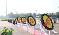 Lãnh đạo Đảng, Nhà nước và nhân dân tưởng nhớ Chủ tịch Hồ Chí Minh