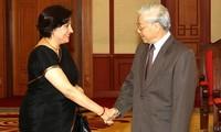 Determinado Vietnam a elevar relaciones diplomáticas con India