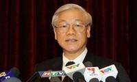 Inicia el secretario general del Partido Comunista de Vietnam visita a India