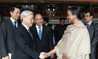 Intensa agenda de dirigente vietnamita en India