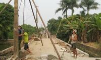 Dong Tho moviliza fuerza del pueblo para edificar área rural