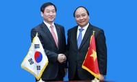 Impulsan cooperación multifacética Vietnam y Corea del Sur