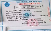Un 80 por ciento de los vietnamitas con seguros de salud en 2020