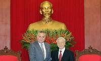 En Vietnam delegación del Partido Progreso y Socialismo de Marruecos
