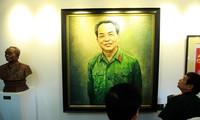 Exposiciones de fotos sobre Dien Bien Phu y el general Vo Nguyen Giap