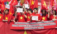 Vietnamitas en Rusia respaldan políticas gubernamentales en solución a disputas en el Mar Oriental