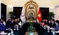 Organización francófona apoya la solución del problema en Mar Oriental por vía jurídica