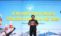 Promueven propaganda sobre la frontera, mar e islas vietnamitas